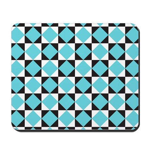 Geometric Checkerboard Mousepad