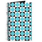 Geometric Checkerboard Journal