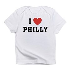 Cute I love philly Infant T-Shirt