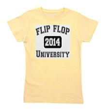 Cute University of Girl's Tee