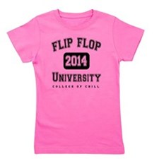 FFU College of Chill Black Girl's Tee