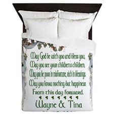 Cute Wayne Queen Duvet