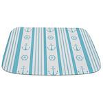 Anchor Nautical Turquoise Bathmat