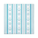 Anchor Nautical Turquoise Queen Duvet