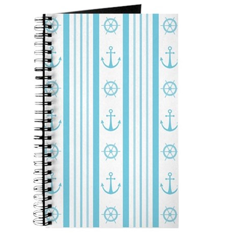 Anchor Nautical Turquoise Journal