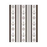 Anchor Nautical Tan Twin Duvet