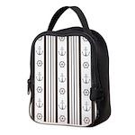 Anchor Nautical Tan Neoprene Lunch Bag