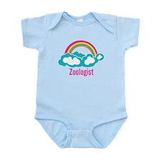 Cloud Rainbow Zoologist Infant Bodysuit