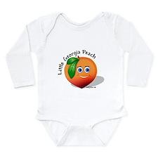 Little Georgia peach wb Body Suit