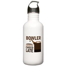 Bowler Fueled by choco Water Bottle