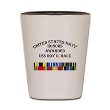 USS Roy O Hale Shot Glass