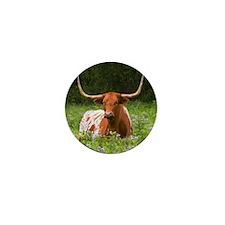 Longhorn Mini Button (100 pack)