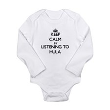 Keep calm by listening to HULA Body Suit