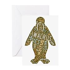 #WALRUSYES Greeting Card