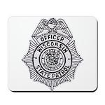 Wisconsin State Patrol Mousepad