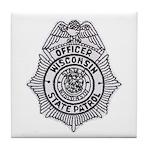 Wisconsin State Patrol Tile Coaster