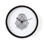 Wisconsin State Patrol Wall Clock