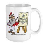 The Masonic Shop Comic Large Mug