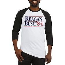 Reagan84-tee WHT Baseball Jersey