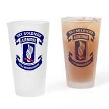 Offical 173rd Brigade Logo Drinking Glass