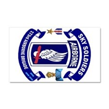 173rd Infantry Logo Car Magnet 20 X 12