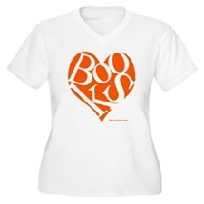 ca_heart_orange Plus Size T-Shirt
