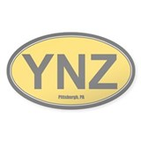YNZ Sticker - Gold