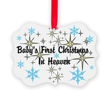 Baby's First Christmas In Heaven Ornament