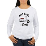 Just Gotta Scoot Lambretta Women's Long Sleeve T-S