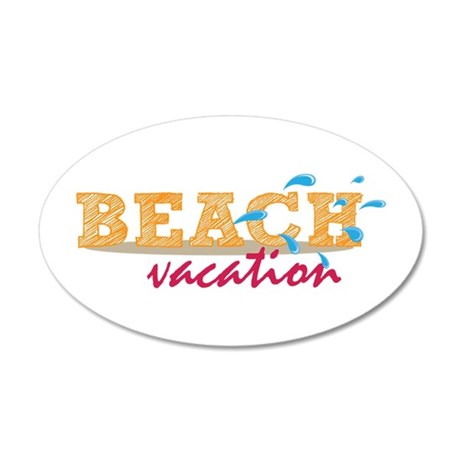 Beach Vacation Wall Decal