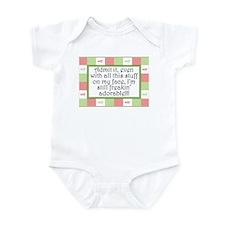 Freakin' adorable Pink/Green Infant Bodysuit