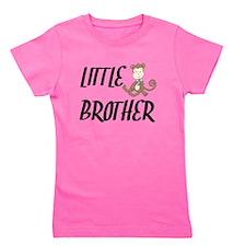 Little Brother Monkey Girl's Tee