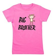 Big Brother Monkey Girl's Tee