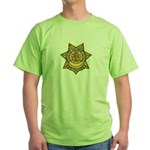 Wyoming Highway Patrol Green T-Shirt