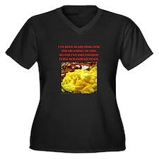 scrambled eggs Plus Size T-Shirt