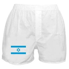 Israel Flag - Magen David Boxer Shorts