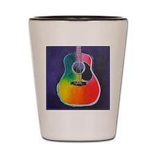 Cute Acoustic guitar Shot Glass
