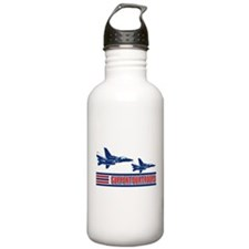 Support Our Troops IV Water Bottle