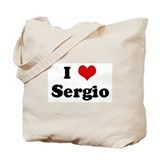 I Love Sergio Tote Bag