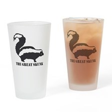 The Great Skunk Drinking Glass