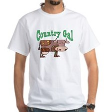 Country Gal White T-shirt