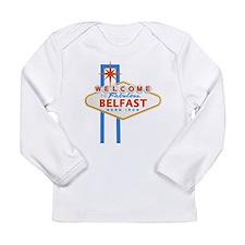 Belfast - Las Vegas Sign Long Sleeve T-Shirt