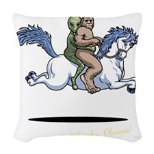 Cute Cartoon Woven Throw Pillow