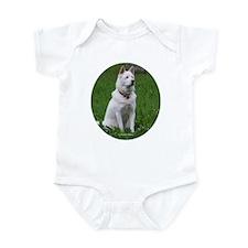 White Dog Body Suit