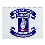 173rd airborne sky soldiers Wall Calendars