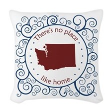 Washington Woven Throw Pillow