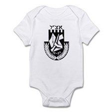 The Irgun (Etzel) Logo Infant Bodysuit