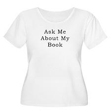 AskMeAboutMyBook Plus Size T-Shirt