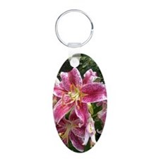 Purple Lily Keychains