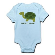 Turtle take it slow Body Suit